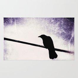 Goth Crow Rug