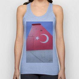 Turkish Air Force Logo Unisex Tank Top