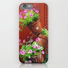 Potted Petunias iPhone 6s Slim Case
