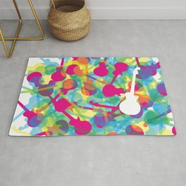 Rainbow Guitars Rug