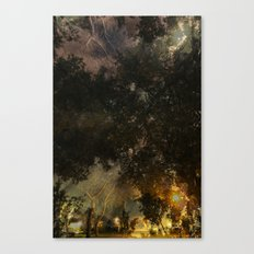 A moment of confusion Canvas Print