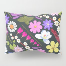 Flowers and mint Pillow Sham