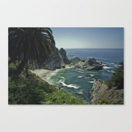 Julia Pfeiffer Burns Beach in Big Sur Canvas Print