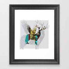 FabCreature · Steppenwolf 4 Framed Art Print
