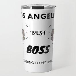 LA's Best Boss Travel Mug
