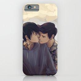 Malec backhug iPhone Case