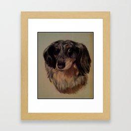 My Man Duke Framed Art Print