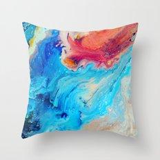 Finite Throw Pillow