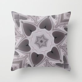 Hearts (from arches in the Bom Jesus church in Old Goa (# 2)) Throw Pillow