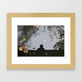 Reflection of oneself Framed Art Print