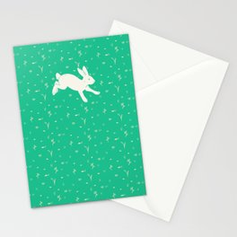 Running Bunny Stationery Cards