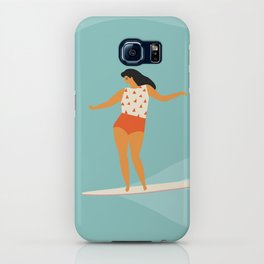 Surf girl iPhone Case