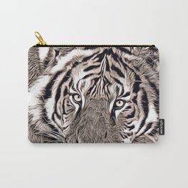 Rustic Style - Tiger Carry-All Pouch