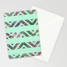 tribal florals Stationery Cards