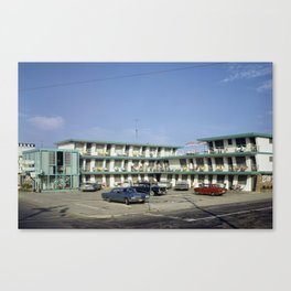 Ebb Tide Motel 1950's, Wildwood, NJ, Retro Motel Canvas Print
