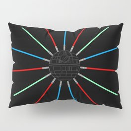 A Twinkling Deathstar 80's Style Pillow Sham