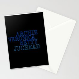 Riverdale Core Stationery Cards
