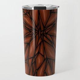 Brown Diamond Travel Mug