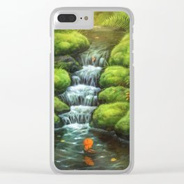 Little Stream Clear iPhone Case