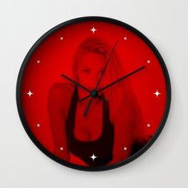 Pamela Anderson - Celebrity (Photographic Art) Wall Clock