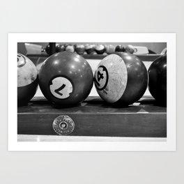 Bowling Balls Art Print
