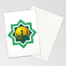 Symbol of Muslim Stationery Cards