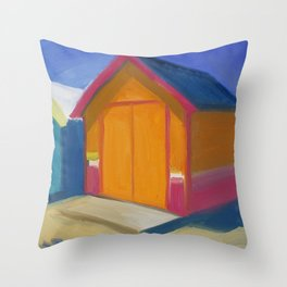 Summer Shacks #1 Throw Pillow