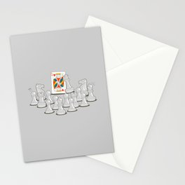 Wrong King Stationery Cards