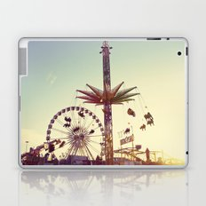 Golden Hour at the Carnival Laptop & iPad Skin