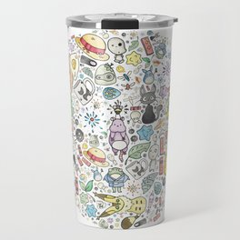 Ghibli Love Circle Travel Mug