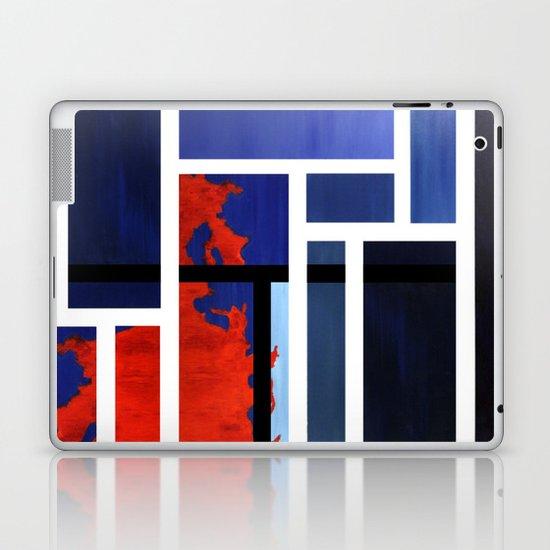 Blue Me Orange Laptop & iPad Skin
