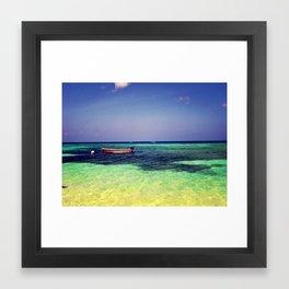 dinghy. Framed Art Print