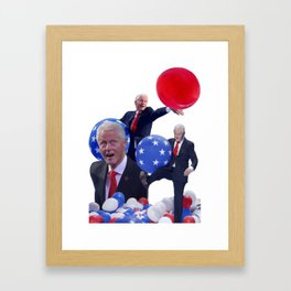 Bill's Balloons Framed Art Print
