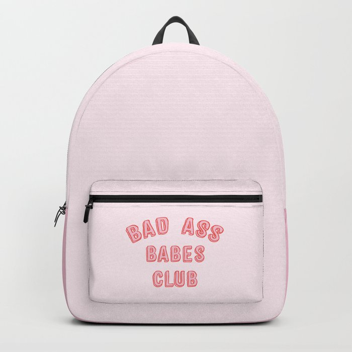 BAD ASS BABES CLUB Backpack