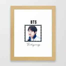 BTS - Prince - Taehyung Framed Art Print