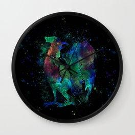 Dark side Rooster Wall Clock