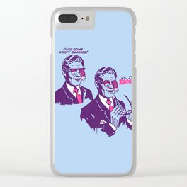 Pranked Clear iPhone Case