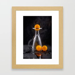 Ping-pong, the game is over. Framed Art Print