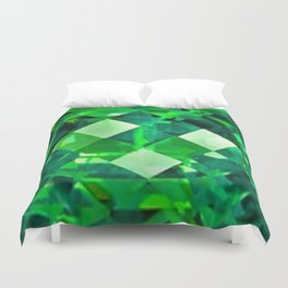 Emerald City May Emerald Birthstone Design Duvet Cover