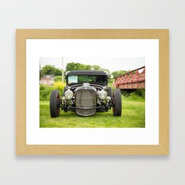 Ford Hot Rod Framed Art Print