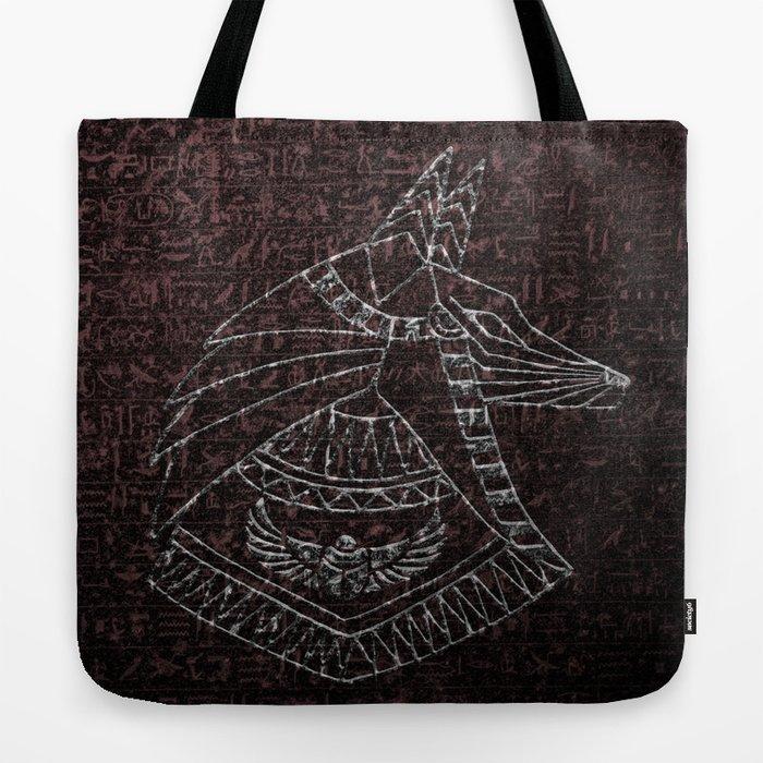 Anubis Egyptian God Tote Bag