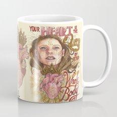 Heart is the Queen Mug