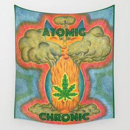 Atomic Chronic Wall Tapestry