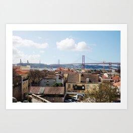 Love, Lisbon Art Print