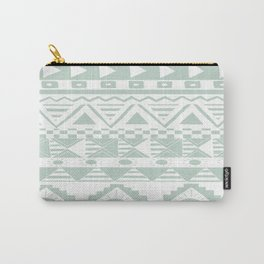 Aztec Mint Carry-All Pouch