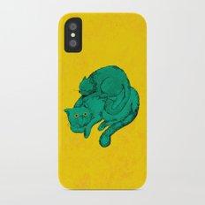 Cat Friends iPhone X Slim Case