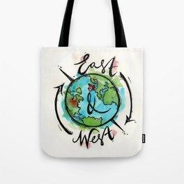 East & West Logo Tote Bag