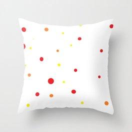 Dots IV. Throw Pillow