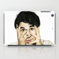 darren criss iPad Cases featuring Darren Criss by weepingwillow