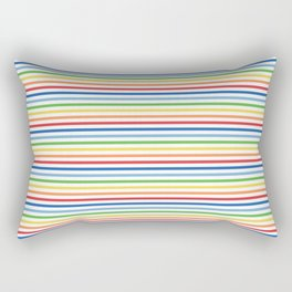 Vintage T-shirt No7 Rectangular Pillow